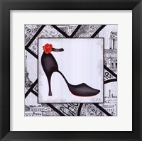 City Shoes III Framed Print