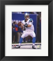 Framed Jimmy Clausen 2010 Action