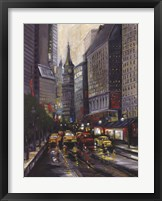 Framed City Street I