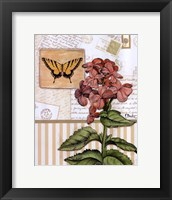 Framed Botanical Collage I - mini