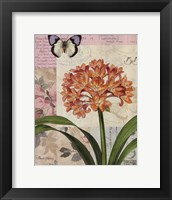 Cilvia Floral Collage Framed Print