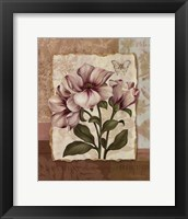 Flower Trio II - mini Framed Print