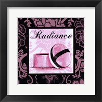 Fashion Pink Radiance Framed Print