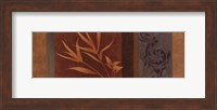 Framed Leaf Silhouette I - mini