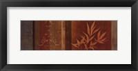 Leaf Silhouette II - mini Framed Print