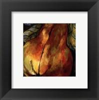 Framed Juicy Pear