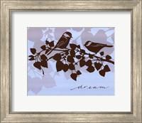 Framed Chickadee Dream - mini