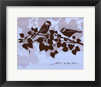 Framed Chickadee Dream - mini