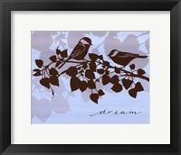 Chickadee Dream - mini Framed Print