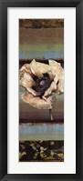 Framed Elemental Poppy I