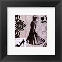 Little Black Dress Framed Print