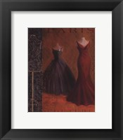 Framed Couture I