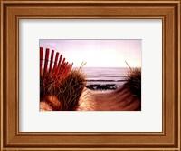 Framed Beach Path