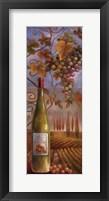 Framed Wine Country I