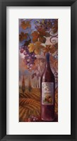 Framed Wine Coutry II
