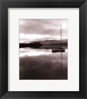 Framed Serenity Lake I
