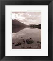 Serenity Lake II Framed Print