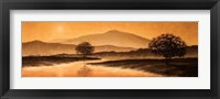 Framed Sunrise Landscape I