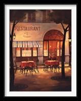 Framed Evening Restaurant