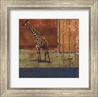 Framed Serengeti Giraffe