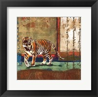 Framed Serengeti Tiger