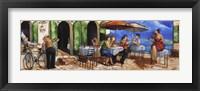 Framed Monday Morning at Cafe da Vinci