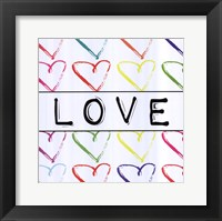 Framed Love - Sharpie