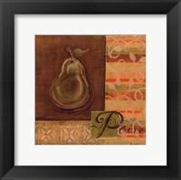 Framed Poire II