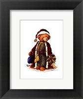 Framed Victorian Bear