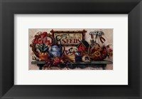 Framed Choice Flower Seeds