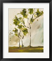 Framed Calli Trees I