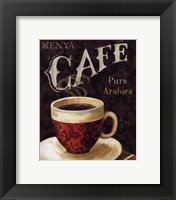 Today's Coffee I Framed Print