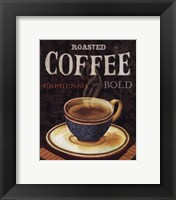 Framed Today's Coffee IV
