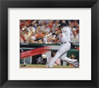 Framed Albert Pujols 400th Home Run 2010 Action