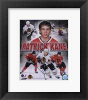 Framed Patrick Kane 2010 Portrait Plus