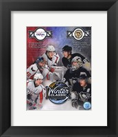 Framed 2011 NHL Winter Classic Matchup Composite