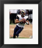Framed Sam Bradford 2010 Action