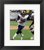 Framed Steven Jackson 2010 Action