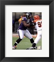 Framed Michael Oher 2010 Action