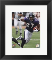 Framed Ray Rice 2010 Action