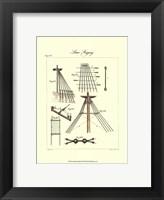 Nautical Details II Framed Print