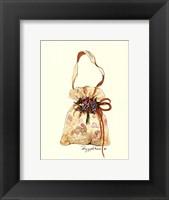 Framed Floral Purse