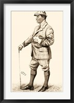 Framed Vanity Fair Golfers III