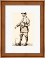 Framed Vanity Fair Golfers III