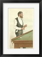 Framed Vanity Fair Billiards