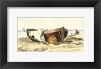 Framed Lobster Boat