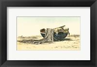 Framed Prawn Boat
