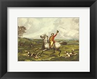 Framed English Hunt VI