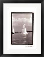 Framed Ocean Breeze III