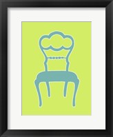 Small Graphic Chair IV (U) Framed Print
